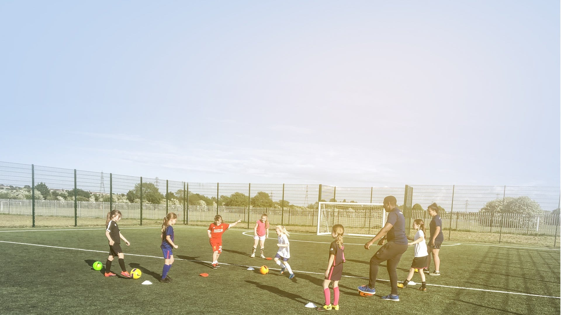 Local clubs practising